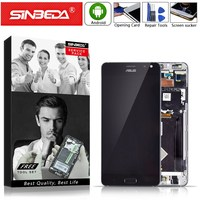 5.7Sinbeda AMOLED For ASUS ZenFone AR ZS571KL LCD Touch Screen withFrame Digitizer For ASUS Zenfone ZS571KL Display ZS571kl LCD