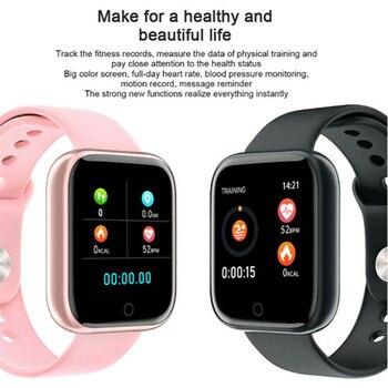 T80 Smart Watch Heart Rate Monitor Fitness Tracker Waterproof Bluetooth Smartwatch For Apple IPhone Xiaomi Sports Bracelet