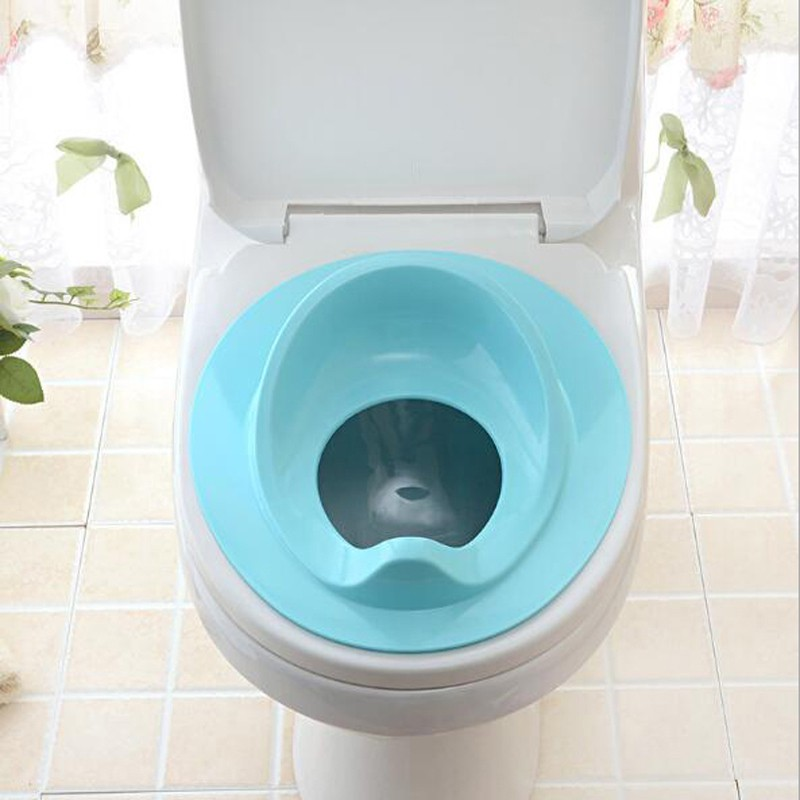 Children Baby Toddler Potty Seat Cushion Bathroom  Reinforced Design Training Baby Potty Safe Seat Kids Comfortable Portable