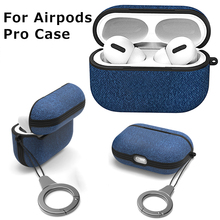 Bluetooth Earphone Case For Airpods Pro Cloth Pattern Anti lost Non slip Protective Cover For Air Pods 3 Wireless Headset Cases