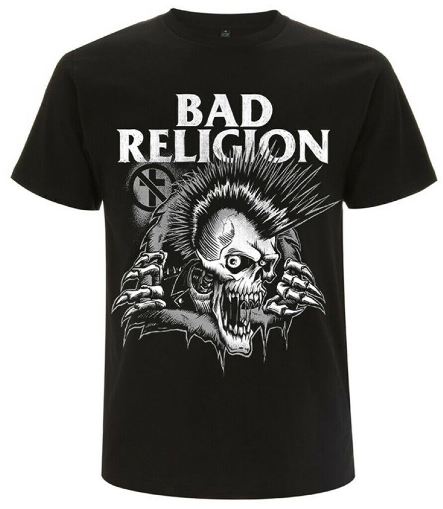 Bad Religion 'Bust Out' (Black) T-Shirt - NEW & OFFICIAL!