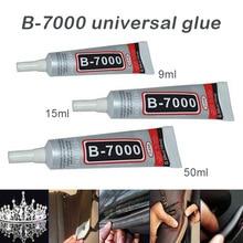 Экономичная 1/4/10 шт. B-7000 клей промышленная клейкая лента для Универсальный амортизирующий бампер для телефона с ювелирные изделия ds99