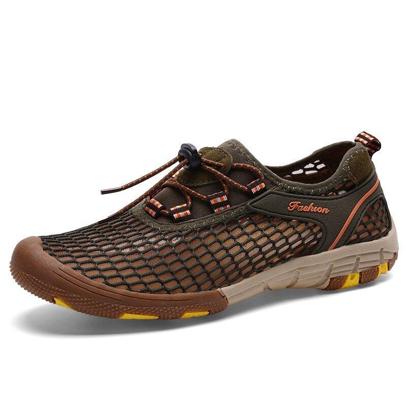 Wandern Sandalen Sommer Turnschuhe Männer Im Freien Aqua Schuhe Atmungsaktiv Wandern Schuhe Anti Skid Trekking Schuhe Upstream Sandalen für Männer