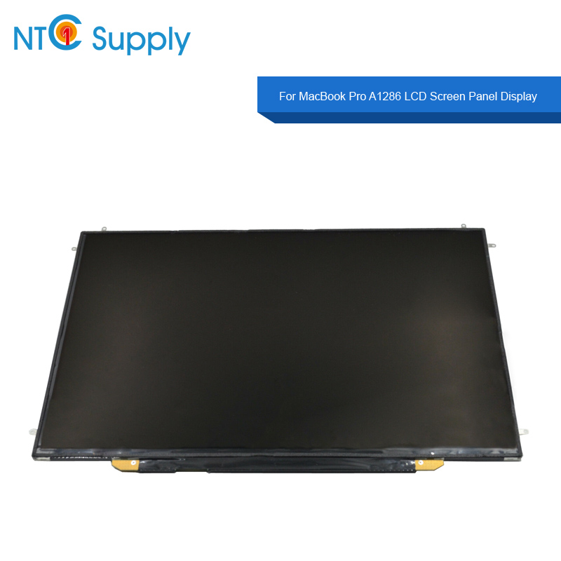 NTC Supply For MacBook Pro <font><b>A1286</b></font> 2008-2012 Year LCD <font><b>Screen</b></font> Panel Display 100% Tested Good Function image