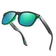 OEC CPO Men UV400 Polarized Sunglasses For Mens Classic Square Goggle Male Driving Sport Gafas De Sol PO98-1
