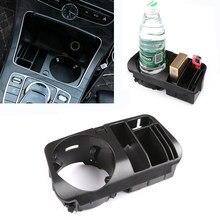 Boîte de rangement en plastique pour Console centrale de voiture, pour Mercedes Benz C E GLC Class W205 X253 W213 S213 C238