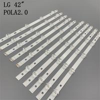 Tira de LED para iluminación trasera para televisor LG, 42 pulgadas, INNOTEK POLA2.0 42 Rev0.1 Pola 2,0 T420HVN05.0 42LN5400 42LN5300 T420HVN05.2