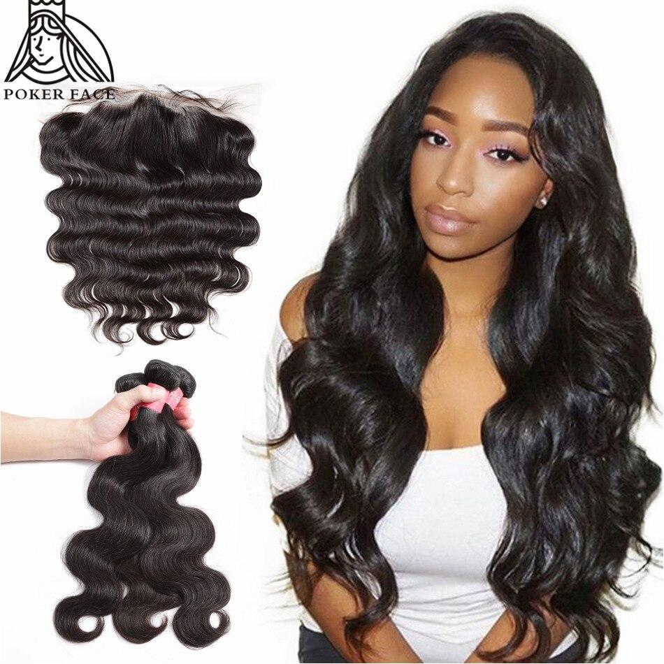 8-28 30 дюймов бразильские волосы волнистые объемные человеческие волосы 3 4 пряди с фронтальной шнуровкой remy волосы Средний рацион