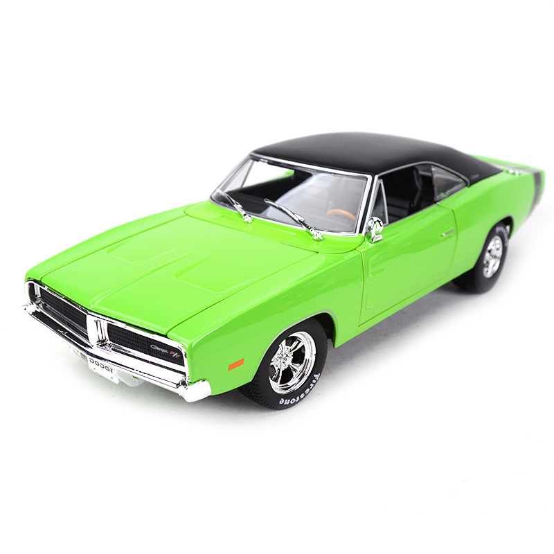 Maisto 1:18 1969 Dodge Charger R/T Sports Car Static Simulation Diecast Alloy Model Car