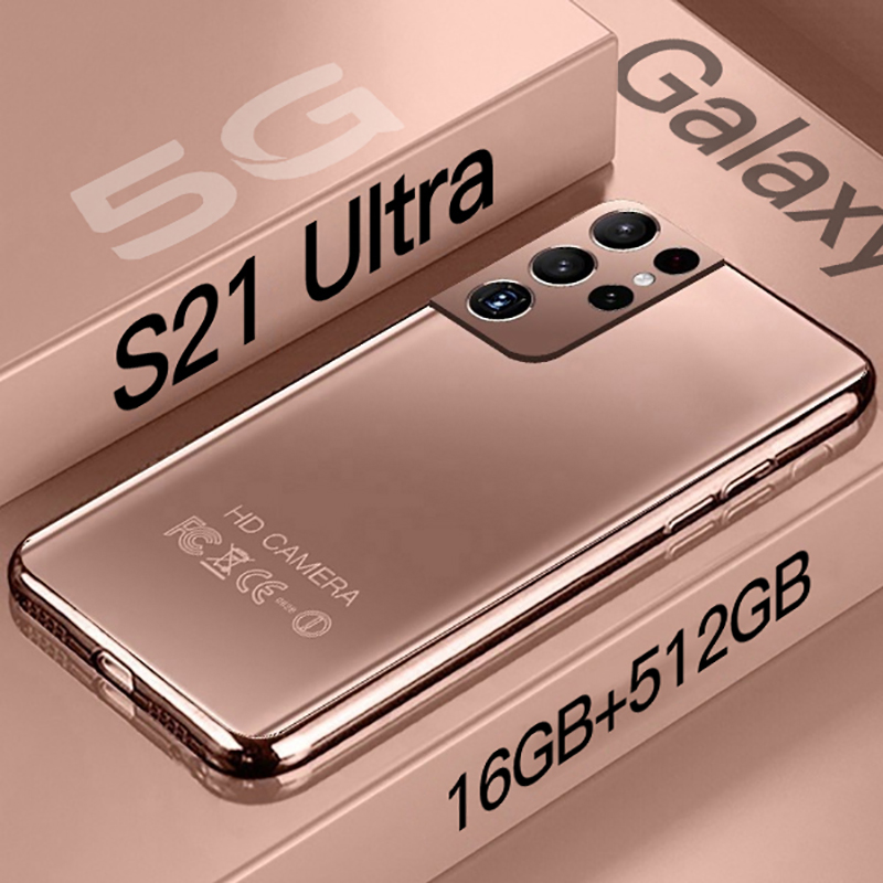 Global Version Galaxy S21 Ultra Smartphone 7.3 HD Inch Android 10.0 Mobile Phones 16GB+512GB Cellphones Celular 5G Phone