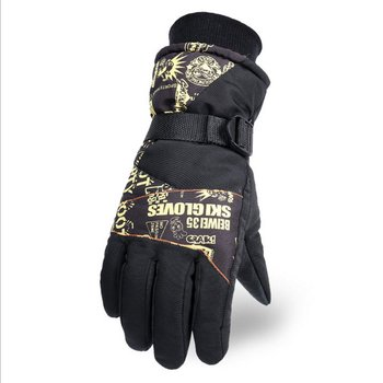 Women Men's Ski Gloves Touch Screen Snowboard Gloves Motorcycle Winter Ski Gloves Windproof Waterproof Unisex Snow Gloves new men s ski gloves snowboard gloves motorcycle riding winter children ski gloves windproof waterproof unisex snow gloves
