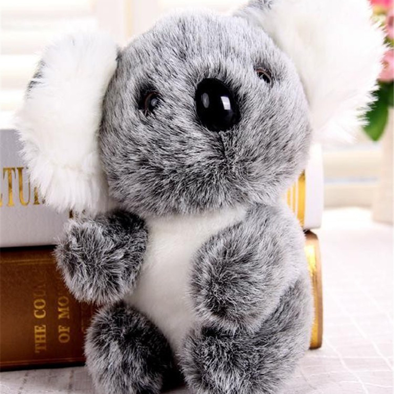 13CM 18CM New Arrival Super Cute Small <font><b>Koala</b></font> <font><b>Bear</b></font> <font><b>Plush</b></font> Toys Adventure <font><b>Koala</b></font> Doll Baby Kids Birthday Christmas Gift image