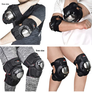 Image 5 - WOSAWE Hard Shell Moto Knee Pads Set Brace Support Sports Off Road Guard MTB Snowboard Kneepad Hockey Motorcycle Protection Kits