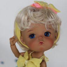 Gaoshun 1/8 bonecas bjd 8 pontos-junta secreta mong-resina molde do corpo moda bonito presente de aniversário