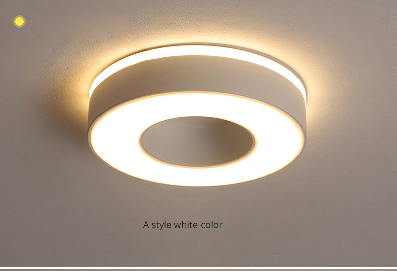 Hd5376ead46df433c9f057076ad7c5266q Living Room Ceiling Lights | Drop Ceiling Lights | LED Ceiling Light Corridor Art Gallery Decoration Front Balcony Lamp Porch White Black Power 18W