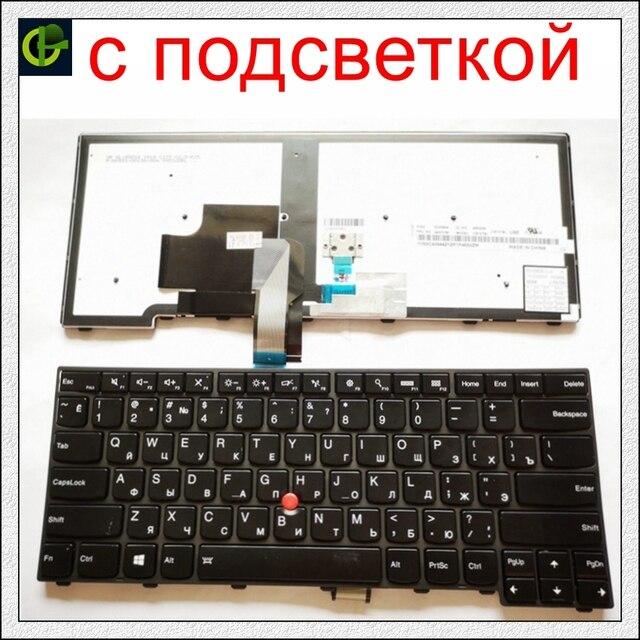 חדש תאורה אחורית רוסית מקלדת עבור lenovo ThinkPad L440 L450 L460 L470 T431S T440 T440P T440S T450 T450S e440 e431S T460 RU