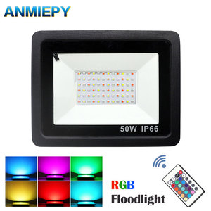 30W 50W 100W RGB LED Flood Lig