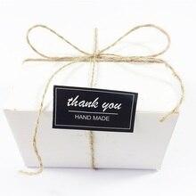 80 Pcs/lot Black&White thank you Seal Label Sticker DIY Handmade for something Gift Cookies Baking Scrapbooking Sealing