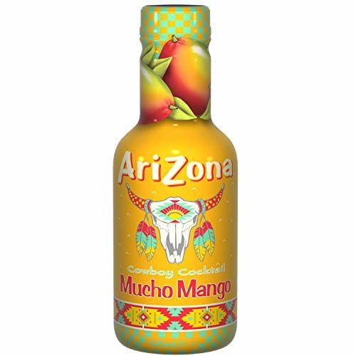 Arizona Mangue Mucho Mango Bouteille 500 Ml - Lot De 3