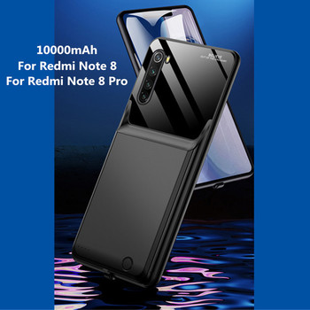 10000mAh Portable Phone Battery Power Cover For Redmi Note 8 Power Bank For Xiaomi Redmi Note 8 Pro Backup Battery Power Charger image