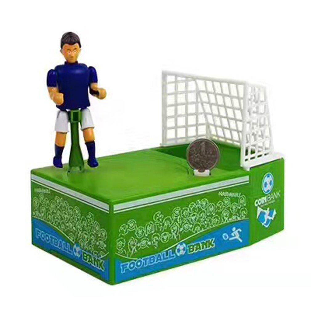 Creative Football Piggy Bank Electric Coin Piggy Bank Child Toy Money Box Home Boy Gift Storage Money