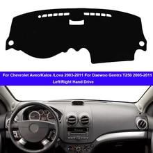 Dashboard-Cover Aveo Daewoo Gentra T250 Dashmat Car for Chevrolet Carpet-Cape Sun-Shade