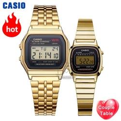كاسيو ساعة ذهبية ساعة الرجال مجموعة العلامة التجارية الفاخرة LED الرقمية مقاوم للماء ساعة كوارتز رجالية الرياضة العسكرية ساعة معصم relogio masculino