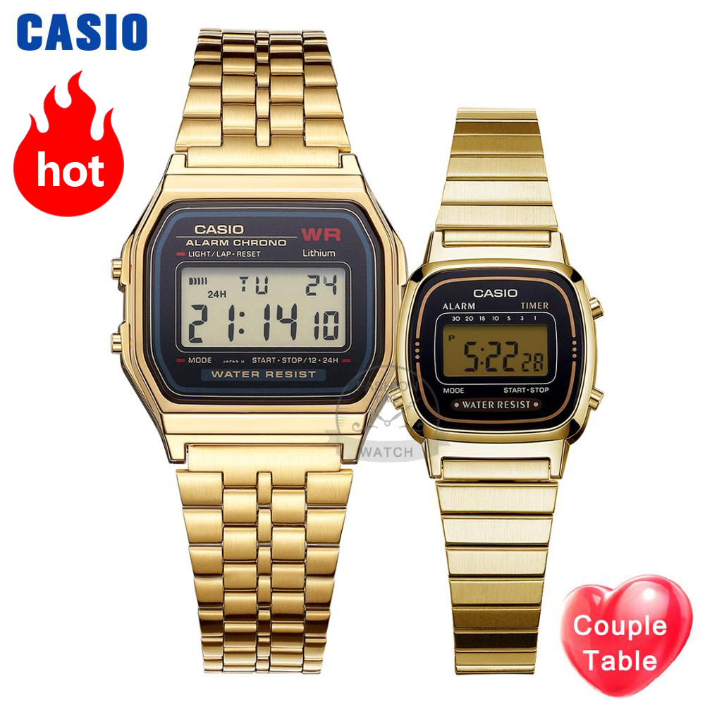 Casio Watch Men Clock Women Couple Watches Set Top Luxury Quartz Ladies Wrist Watch Sport Waterproof LED Relogio Digita Masculin