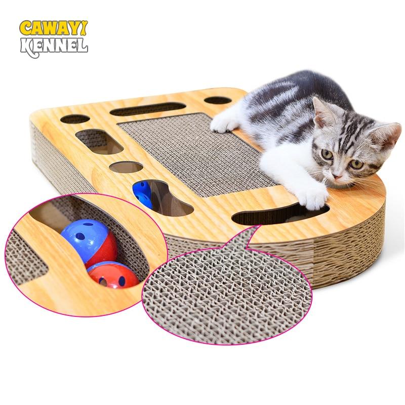 Cawayi canil pet gato raspador de papel placa gatinho arranhando post para gatos scratcher raspadeiro gato dla kota grattoir bate-papo