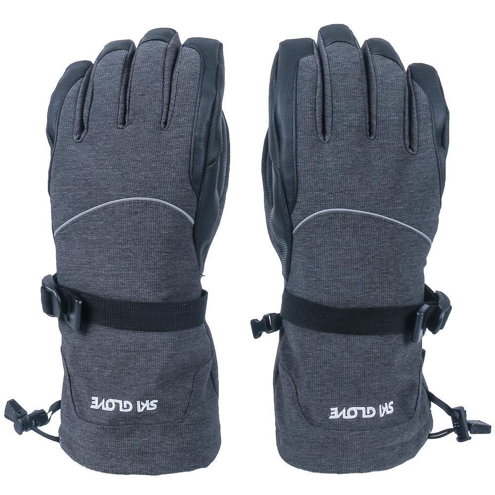 New Waterproof Breathable Ski Gloves Outdoor Riding Running Adult Warm Gloves