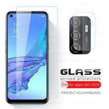 Opo a53 s câmera de vidro len vidro protetor de proteção para oppo a53 a53s a 53 2020 6.5 cellphone treprotetor de tela de celular segurança tremp armadura filme