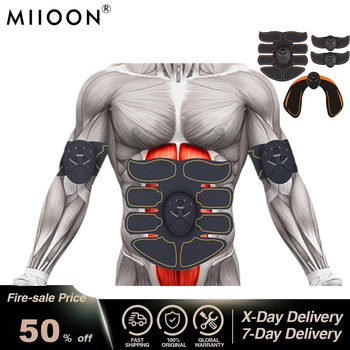 Electric Muscle Stimulator ems Wireless Buttocks Hip Trainer Abdominal ABS Stimulator Fitness Body Slimming Massager 1