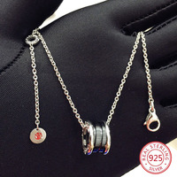925 sterling silver female necklace pendant fashion personality couple jewelry jewelry hot birthday gift 2019 new hot