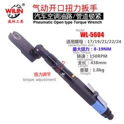 Wilin открытый конец крутящий момент Управление Воздушный пневматический гайковерт храповой ключ с храповым механизмом 17 19 22 24 мм болт с шест...