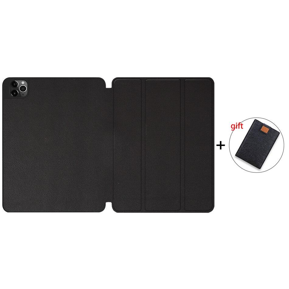 Black Champagne MTT 2020 Tablet Case For iPad Pro 12 9 4th Gen A2229 A2233 Soft TPU PU