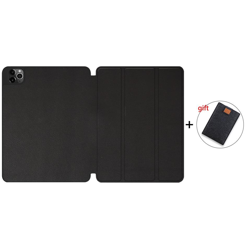 Black Champagne MTT Case For iPad 4th Gen Pro 12 9 2020 Release A2229 A2233 Soft TPU Back