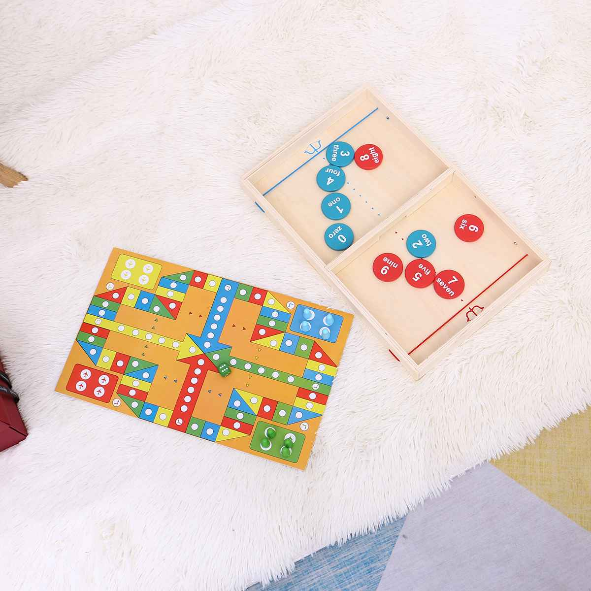 clássico jogo de quebra-cabeça de vôo conjunto crianças brinquedo