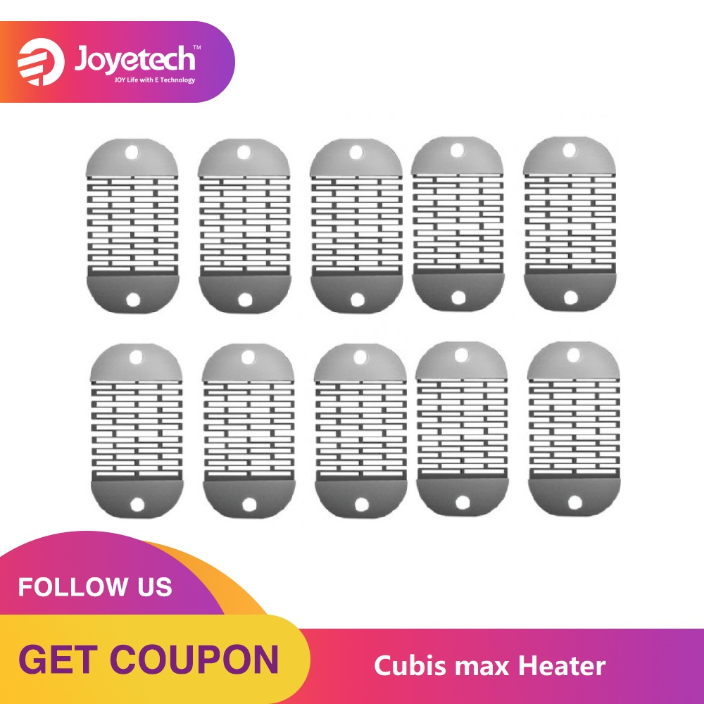 Original 5/10/15/25pcs Joyetech Cubis Max Heater NCFilmTM Heater Replacement For Cubis Max Atomizer Electronic Cigarette Coil