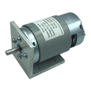 Image 5 - 997 Krachtige Dc Motor 12 36V Hoge Snelheid Motor Stil Kogellager Motor
