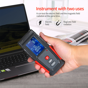 Image 2 - Radiation Detector Tester Counter Dosimeter Emission Electromagnetic Portable Dosimeter Emf Tester Field Radiation Detector