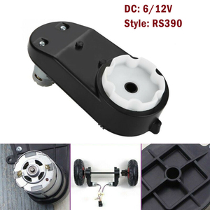 Electric Gearbox Motor Gear Box For Children Kids Ride-On Car Bike Toy Accessories Replacement Motor RS390