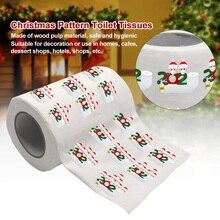 Tissue Toilet-Paper Funny Wood Printed Pulp Napkin Bathroom-Decor Gift Roll Birthday
