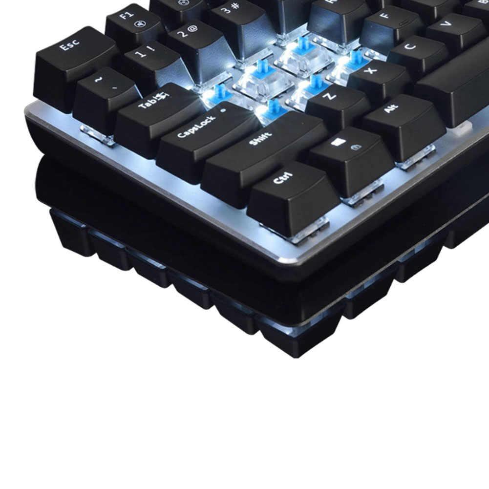 AK33 82 مفاتيح USB لوحة المفاتيح الميكانيكية السلكية الخلفية محور لوحة مفاتيح الألعاب الميكانيكية للكمبيوتر كمبيوتر مكتبي دروبشيب