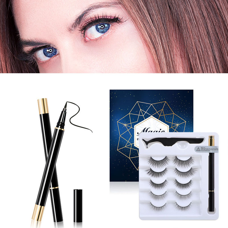 Non-Magnetic Liner And Lashes Kit
