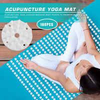 Esterilla de Yoga de acupresión de loto, cojín de Pilates ligero, aguja de Fitness, accesorios para ejercicios de seguridad, 100 Uds.