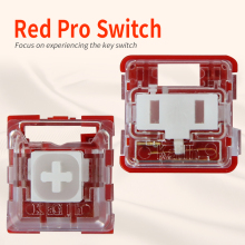 Kailh Box/low profile Switch Chocolate Mechanical Keyboard Switch RGB SMD  white stem linear hand feeling Red Rro switch