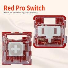 Kailh Box/przełącznik niskoprofilowy czekoladowa mechaniczna klawiatura RGB SMD biała łodyga liniowy ręczny czerwony przełącznik Rro
