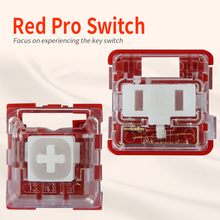 Kailh ボックス/低プロファイルスイッチチョコレートメカニカルキーボードスイッチ rgb smd 白幹リニア手触り赤 rro スイッチ