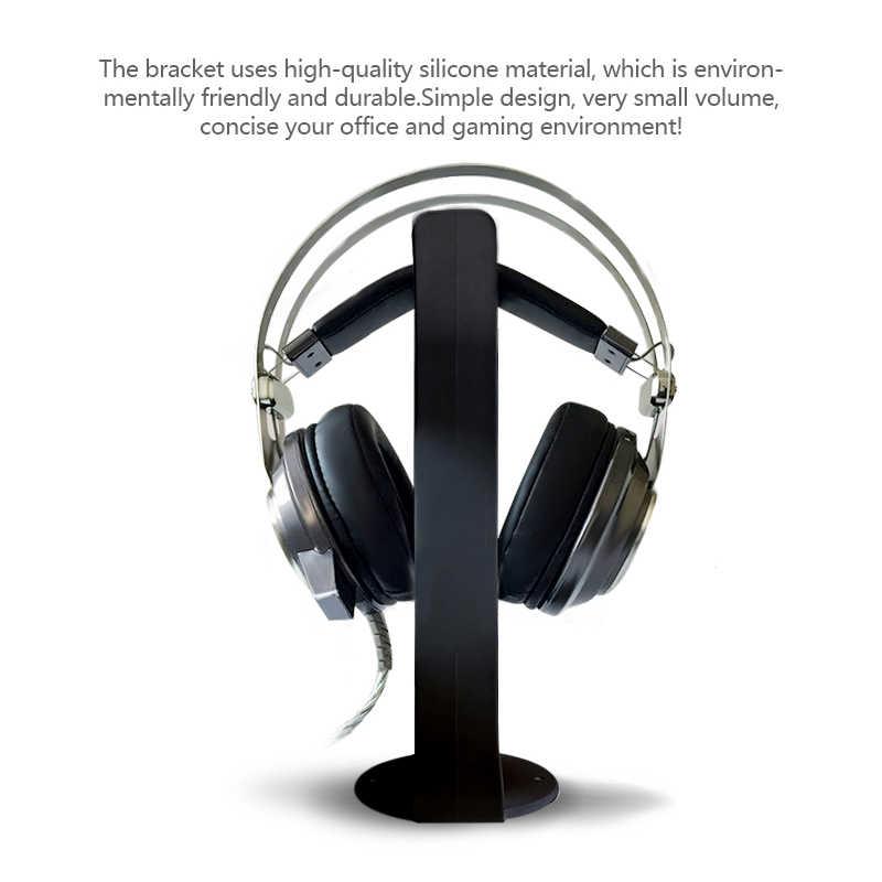 ヘッドセットアクリルヘッドホンイヤホン用スタンドブラケットマウントハンガーラックゲーマーのためのヘッドセットヘッドホン