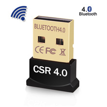 Dongle Adapter Windows Bluetooth-4.0 Receiver Mouse Laptop Mini Wireless-Transmitter